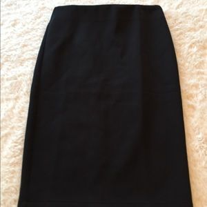 NWT Catherine black pencil skirt size 6